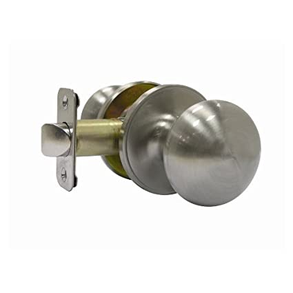 Gatehouse Satin Nickel Passage Door Knob TFX230