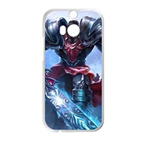 HTC One M8 Cell Phone Case White League of Legends Dreadknight Garen LOL-STYLE-7760
