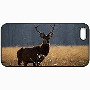 Customized Cellphone Case Back Cover For Case For Samsung Galaxy S3 i9300 Cover , Protective Hardshell Case Personalized Deer Black