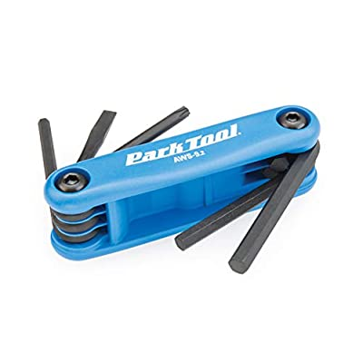 Park Tool AWS-9.2 Fold-Up Hex Wrench Set - 4mm, 5mm, 6mm, T25, Screwdriver: Sports & Outdoors