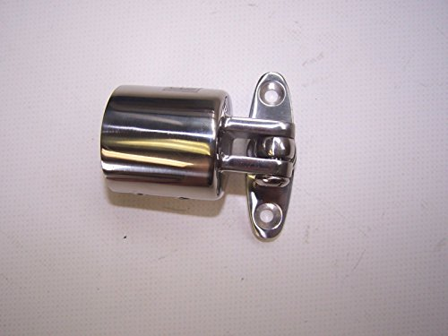 270222 Sea-Dog Line Bimini Top Frame 360° Swivel Deck Hinge Top / Side Mount 316 Stainless SURPLUS 132-1055 ()