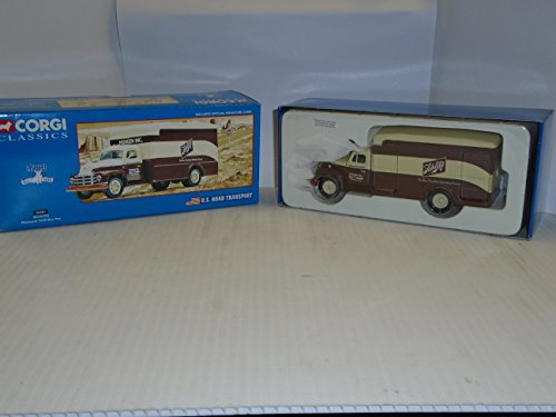 Corgi Classics U.S. Road Transport Schlitz Diamon T620 Box Van 56401 die cast vehicle