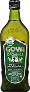 Goya, Premium Organic Extra Virgin OIl, 500 Milliliter(mL)