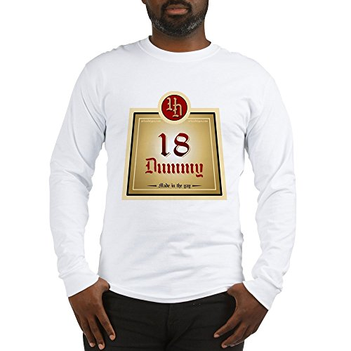 CafePress 18 Dummy Juice Unisex Cotton Long Sleeve for sale  Delivered anywhere in USA