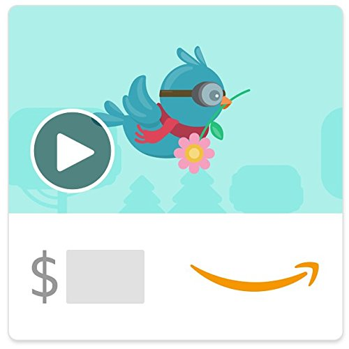 Large Product Image of Amazon eGift Card - Mother's Day birds (Animated)
