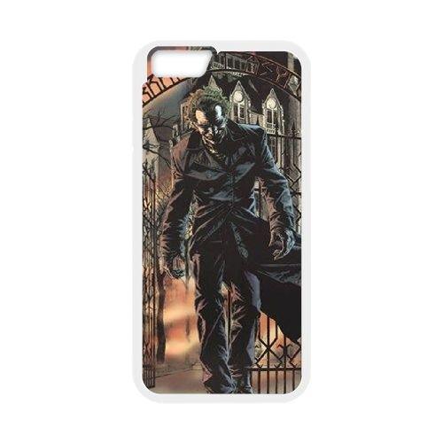 Batman Joker coque iPhone 6 Plus 5.5 Inch Housse Blanc téléphone portable couverture de cas coque EBDOBCKCO09065