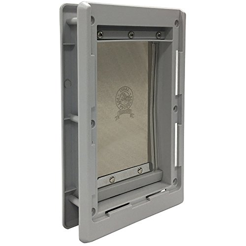 Ideal Pet Products Designer Series Plastic Pet Door with Telescoping Frame, Small, 5' x 7' Flap Size