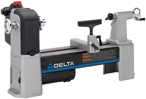 Delta Industrial 46-460 12-1 2-Inch Variable-Speed Midi Lathe