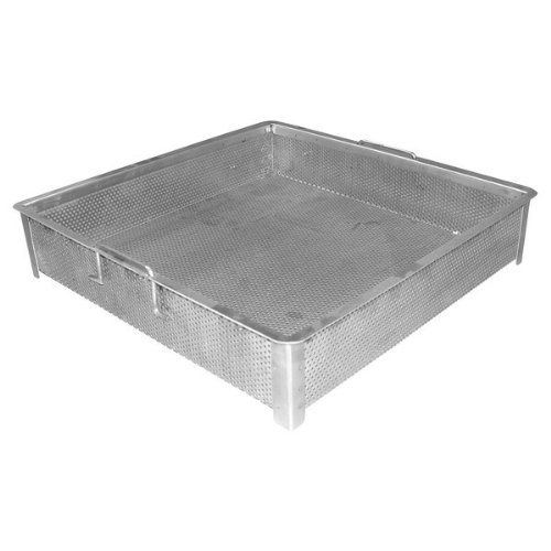 - ACE Equipment Stainless Steel Compartment Sink Drop-In Drain Basket for 20