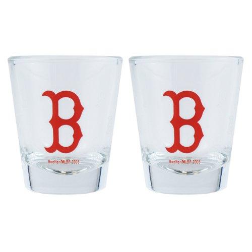 MLB Boston Red Sox Boelter Shot Glasses 2-Pack ()