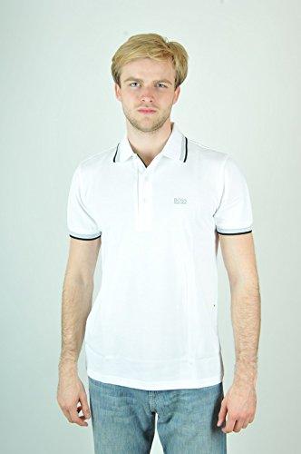 Hugo Boss BOSS Men's Paddy Polo Shirt, White, ()
