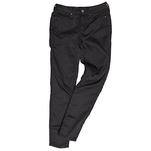 Calvin Klein Jeans Ankle Skinny Pants for Women (4, Black)