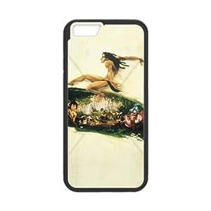 iPhone 6 Plus 5.5 Inch phone case Black Tarzan KKUP1763291