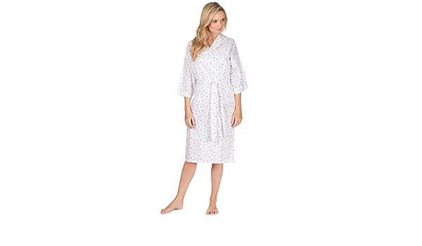 Mujer Pijama tejido algodón/poliéster Pijama/Pijama verano bata - Rojo Cereza, Chica: Amazon.es: Ropa y accesorios