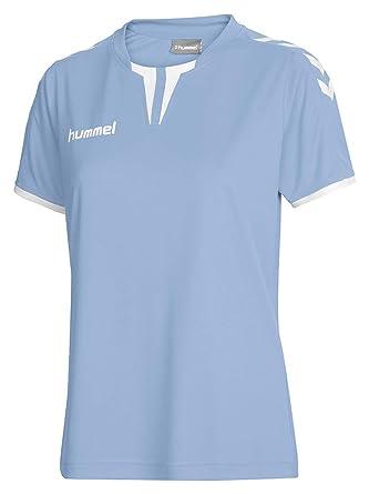 hummel Camiseta de Manga Corta para Mujer Core Jersey Azul ...