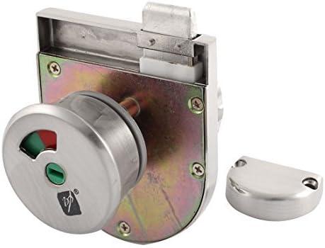 DealMux a15052500ux0179 WC cerradura de puerta Indicador 95cmx70cmx70cm partición Aseo puerta corredera de cristal Indicador LOCK: Amazon.es: Bricolaje y herramientas