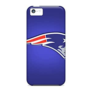 Shock-Absorbing Cell-phone Hard Covers For Iphone 5c (RNY13571Myfv) Unique Design Realistic New England Patriots Pictures