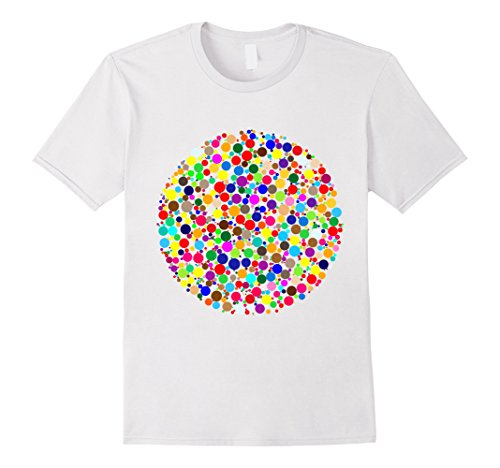 Mens September 15th - International Dot Day T-Shirt Small - International Male Day White