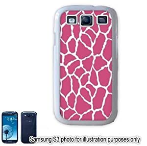 Pink Giraffe Animal Print Pattern Samsung Galaxy S3 i9300 Case Cover Skin White