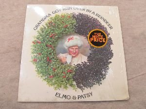 elmo patsy grandma got run over by a reindeer epic 39931 lp vinyl