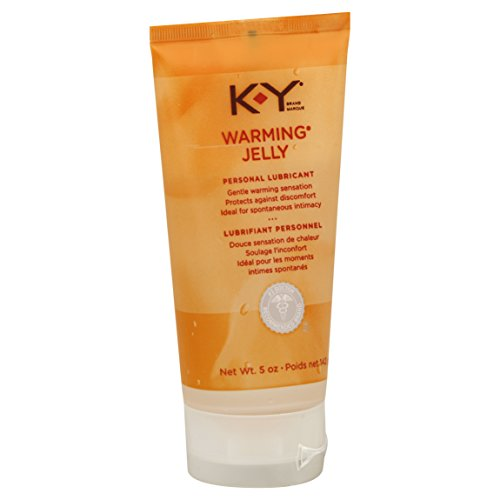 (Personal Lubricant, K-Y Warming Jelly Personal Lube Tube, 5-Ounce Tubes (Pack of 2))