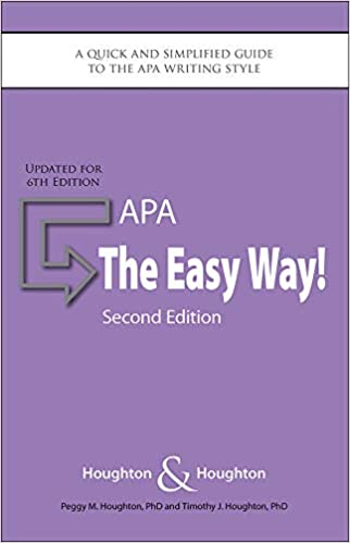 Amazon Com Apa The Easy Way Updated For The Apa 6th
