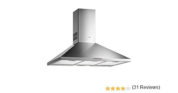 Teka DBP 90 PR 613 m³/h De techo Acero inoxidable D - Campana (613 m³/h, Canalizado/Recirculación, 68 dB, 55 dB, De techo, Acero inoxidable): 144.23: Amazon.es: Grandes electrodomésticos