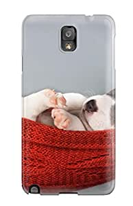Tpu Case For Galaxy Note 3 With Puppy Sleeping In A Hammock