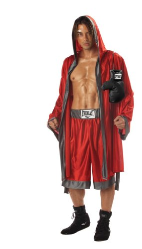 California Costumes Men's Everlast Boxer/Adult Costume,Red/Grey,X-Large