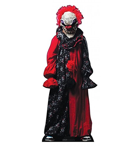Coolest Halloween Decorations (Creepy Clown - Advanced Graphics Life Size Cardboard Standup)