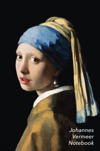 Johannes Vermeer Notebook: Girl with a Pearl Earring Journal | 100-Page Beautiful Lined Art Notebook | 6 X 9  Artsy Journal Notebook (Art Masterpieces) (Girl With The Pearl Earring Book)