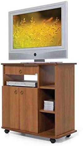 Línea Azul con Mueble para TV Mod. Construcción Nogal Antiguo 80 X 42 X – Un CM: Amazon.es: Hogar