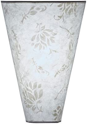Its Exciting Lighting IEL-2800 Moire Pattern Fabric Shade Sconce Battery Powered Wall Sconce With No Electrical Outlet Required It/'s Exciting Lighting