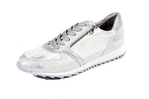 Dockers by Gerli Damen Sneakers silber (42)