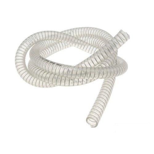 Atec –  Manguera Moto Force, Transparente, con Espiral de Acero, D = 15 x 22 mm, 1 Metro (para Mina Relli Motor de) D = 15x 22mm 1Metro (para Mina Relli Motor de) UNKNOWN