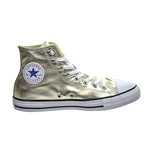 Sneaker Converse All Star Metallic Womens Gold 8 10 Taylor Mens Chuck Hi p4qYB