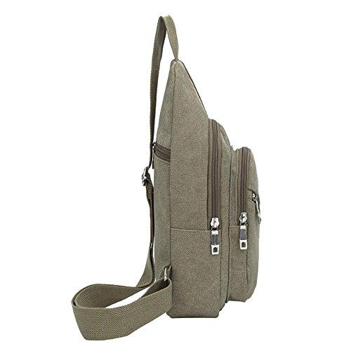 Winter Messenger Army Casual Shoulder Sports Crossbody Men Widewing Chest Bag Bag Green Canvas OwT1qdwZ8n