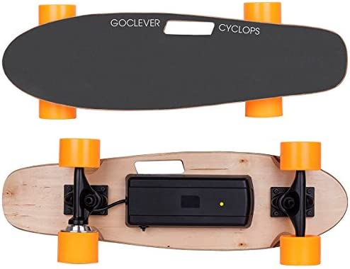 Go clever City Board 65 Cyclops Black Skateboard électrique Mixte Adulte, Gris