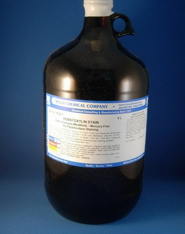 Harris Hematoxylin Stain, Biological - Mercury Free - 4L (4L)