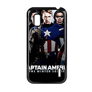 Generic Printing With Captain America Clear Back Phone Covers For Child For Lg Google Nexus 4 Choose Design 9