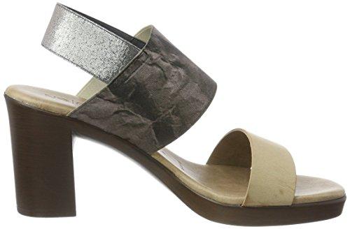 Nerina Grey Ecovac 06vintage Sandals Women's NR Back Grey Ecovac Sling Vintage Rapisardi anwR7xTqE