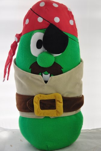 Big Idea Veggie Tales Larry Cucumber Large Pirate - 19
