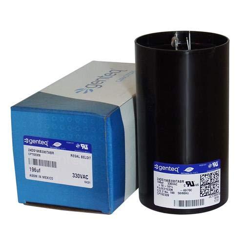 OEM Replacement Start Capacitor 176-216 uf MFD 330 VOLT w// Resistor CPT02328