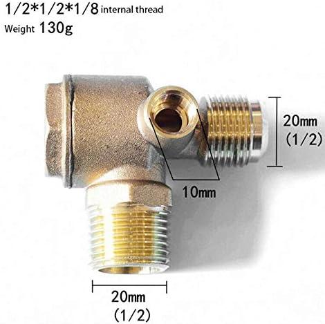 1 válvula antirretorno para el compresor de aire, válvula ...