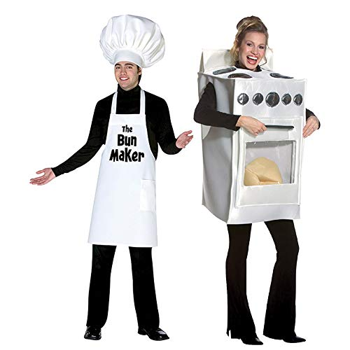 Bunmaker and Bun in The Oven Costume -