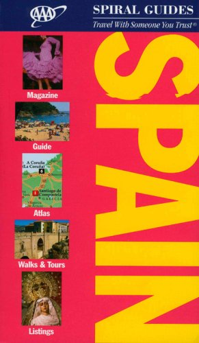 AAA Spiral Spain (AAA Spiral Guides Series) -