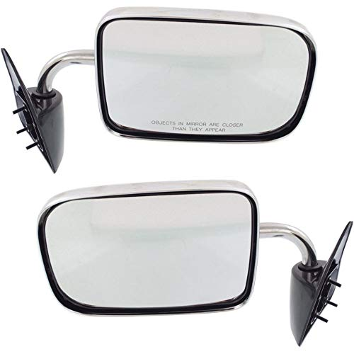 Manual Mirror compatible with Dodge Dakota 87-96 Right and Left Side Manual Folding Non-Heated 6 X 9 In. - 1987 Dodge Dakota Mirror