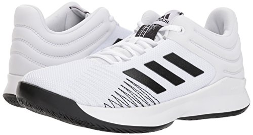 Adidas White grey Pro Homme black 2018 Spark Low q1BSaq