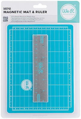 We R Memory Keepers 7 by 5-Inch Magnetic Mat and 6-Inch Ruler, Mini