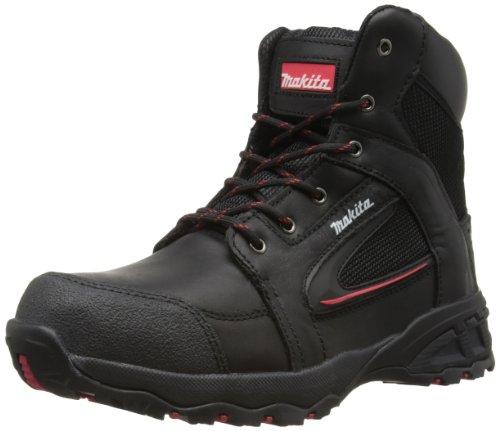 more photos 1d430 20192 Makita Mens Cross-Line Safety Boots MW369 Black 12 UK, 47 EU Regular